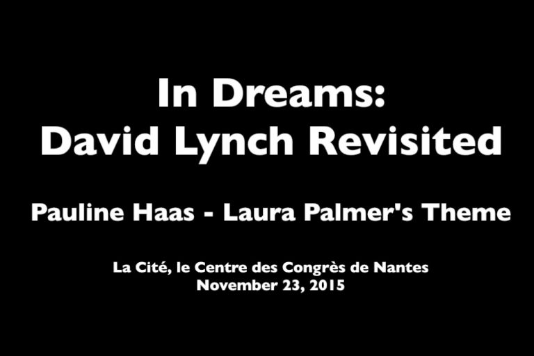 david lynch revisited laura palmer's theme