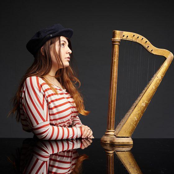 harpiste pauline haas strasbourg alsace france
