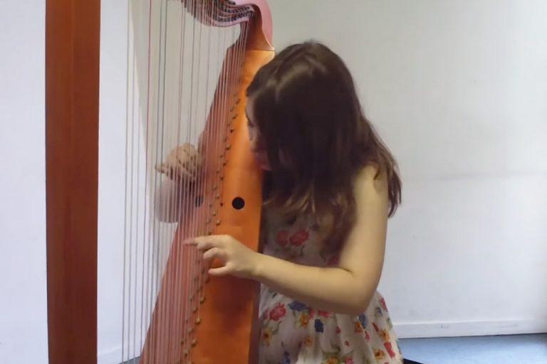 triple harpe yotube pauline haas