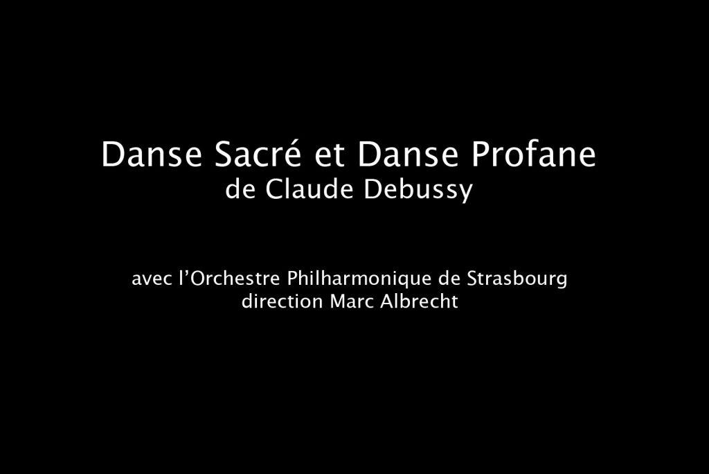 danse sacrée danse profane debussy harp