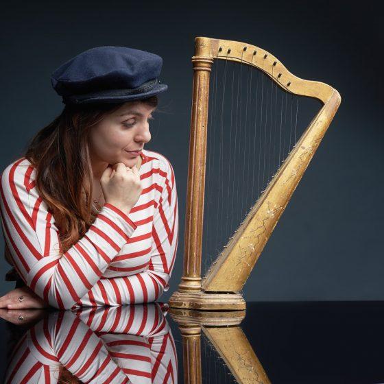 harpiste pauline haas strasbourg alsace france musique de chambre